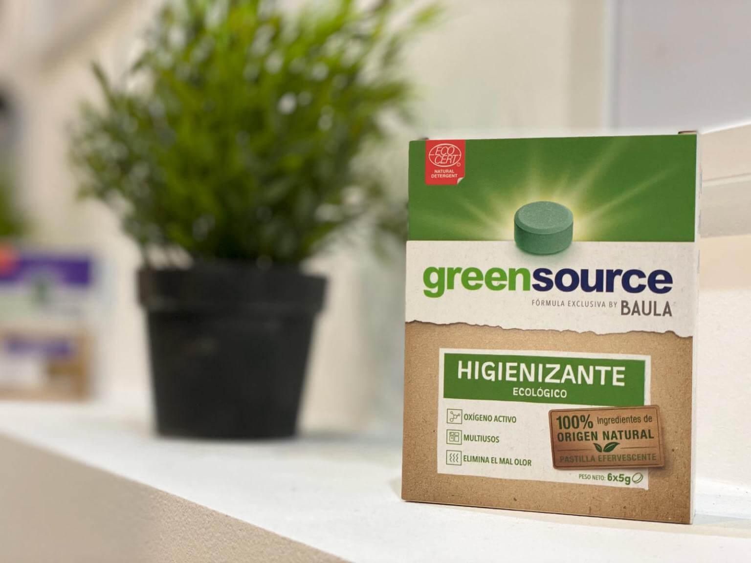 Greensource: nuestra gama de soluciones de higiene y limpieza sostenible
